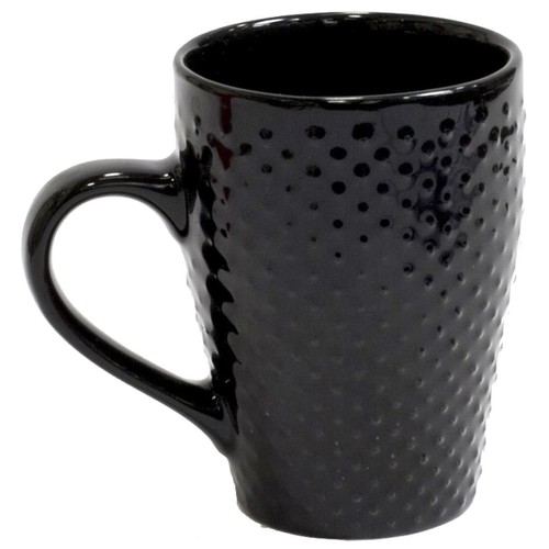 Céramique 300ml Point Tasse A Relief Café Noir Mug c35q4ALSjR