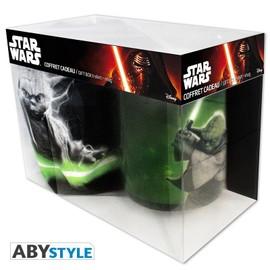 Coffret Star Wars T-Shirt et Mug Géant Yoda - XL