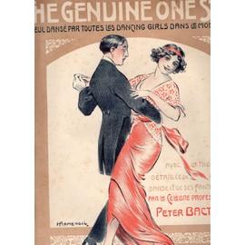 THE GENUINE ONE STEP - AVEC THEORIE DETAILLEE DE CETTE DANSE - DANSE PAR LES DANCINGS GIRLS