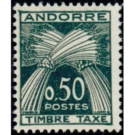 TIMBRE TAXE ANDORRE N°45 NEUF**