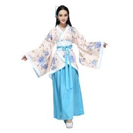 kimono ensemble vtement japonais traditionnel manches cloche motif fleuri plusieurs couleurs plusieurs tailles s