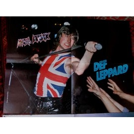 poster 1 face Def Leppard 41 x 54