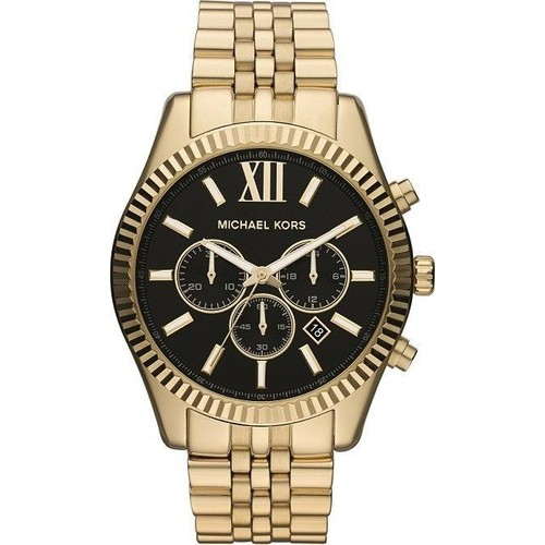 Montre Homme Michael Kors Lexington MK8286 Bracelet en acier doré