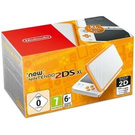 Image New Nintendo 2ds Xl Blanc + Orange