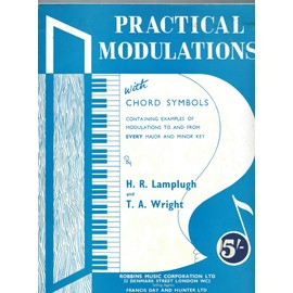 practical modulations with chord symbols containing examples of modulations to and from every major and minor key