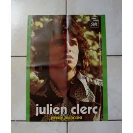poster ( années 1970 ) : julien clerc