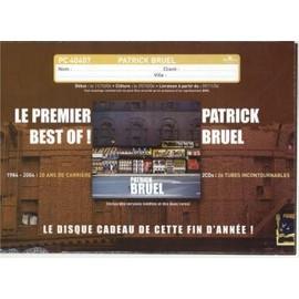 Sampler - PLV de Patrick BRUEL - 20x30