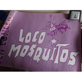 Affiche concert Locos Mosquitos