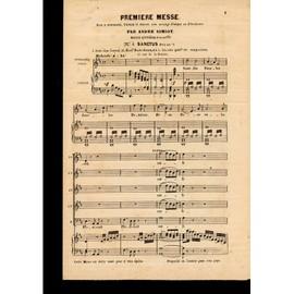 premiere messe