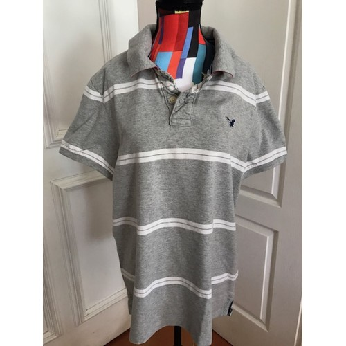 Polo <strong>american</strong> <strong>eagle</strong> outfitters coton l gris clair