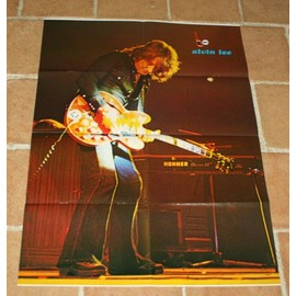 poster affiche magazine revue best n°72 ALVIN LEE 78x57cm TEN YEARS AFTER