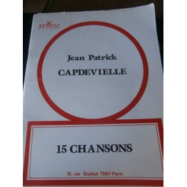 Jean Patrick Capdevielle 15 chansons
