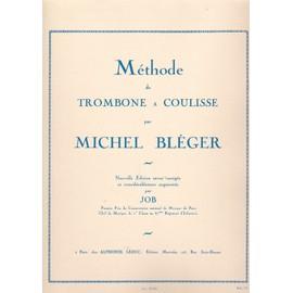Méthode de Trombone à coulisse - Nouvelle edition (job)