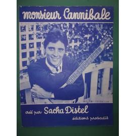 """sacha distel """"monsieur Cannubale"""""""