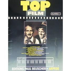 "top film n° 1 "" partition, song book "" 10 morceaux"