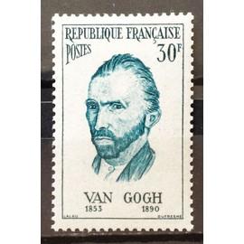 France - Personnages Etrangers - Vincent Van Gogh (Peintre Néerlandais) 30f (Très Joli n° 1087) Neuf* - Cote 4,00€ - Année 1956 - N17229