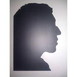 Serge Gainsbourg - Leaflet promo - Découpe profil