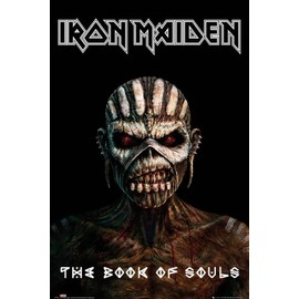 Iron Maiden Maxi Poster 61 x 91,5 cm The Book Of Souls