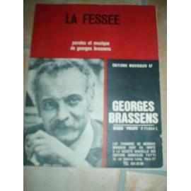 PARTITION GEORGES BRASSENS LA FESSEE.