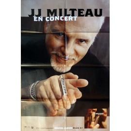 affiche ( format 80X120 cm pliée d'origine ) Jean-Jacques Milteau en concert, Blue 3rd, 2003