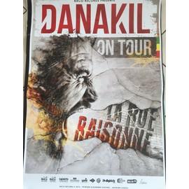 DANAKIL - La Rue Raisonne - 70x100cm - AFFICHE / POSTER envoi en tube