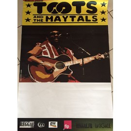 TOOTS and The Maytals - Reggae 2017 - 80x120cm - AFFICHE / POSTER envoi en tube