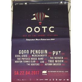 Out Of The Crowd - OOTC - Gogo Penguin -PVT 2017 - 60x80cm - AFFICHE / POSTER envoi en tube