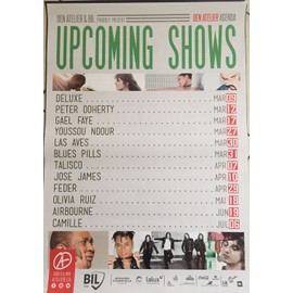Pete Doherty - Olivia Ruiz - 60x80cm - AFFICHE / POSTER envoi en tube