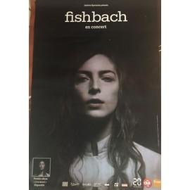 FISHBACK - à ta merci - En Concert 2017 - 80x120cm - AFFICHE / POSTER envoi en tube