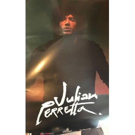 Julian PERRETTA - Concert 2017 - 80x120cm - AFFICHE / POSTER envoi en tube