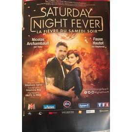 Saturday Night Fever - Fauve - 40x60cm - AFFICHE / POSTER envoi en tube