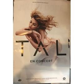 TAL - En Concert 2017 - 80x120cm - AFFICHE / POSTER envoi en tube