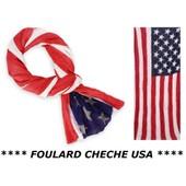 684c7dba1956 Promotion   Chèche Foulard Etats-Uni Usa Américain Xxl (175 X 85 Cm