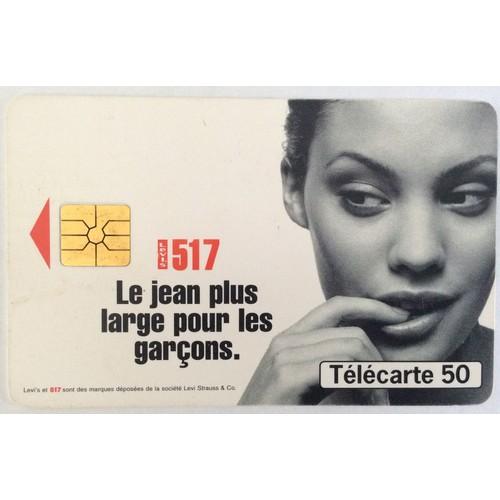 Télécarte 50..<strong>levis</strong> 517...1096