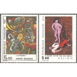 TIMBRES NEUFS - FRANCE - 1984 - YT 2342 + 2343 - SERIE ARTISTIQUE