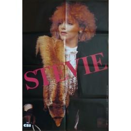 affiche ( format 80X120 cm pliée d'origine ) de Sylvie Vartan ( années 80/90 )
