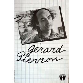 affiche ( format 40X60 cm pliée en deux ) Gérard Pierron ( années 80 )