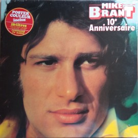 Mike Brant - 10éme Anniversaire - Poster