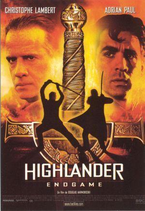 Carte Postale Cinéma - Highlander Endgame - Réf: C.1201 - 3424490033541 affiche de cinéma