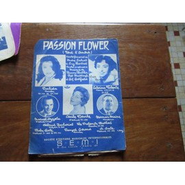 passion flower (( tout l amour (( dalida catherine valente deville azzola norman maine