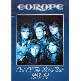 EUROPE Out of this World Tour Book