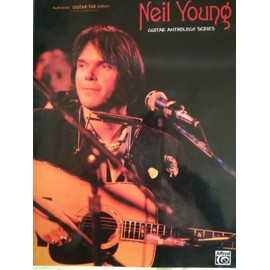 songbook Neil Young guitar anthology series