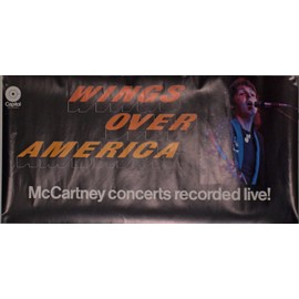 "Poster affiche Wings Mccartney ""Wings over America"""