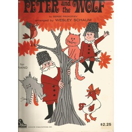 Peter and the wolf, Serge Prokofiev, piano - Pierre et le loup -