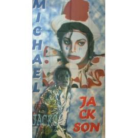 Drapeau textile Michael Jackson