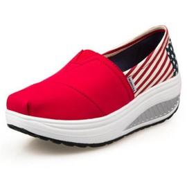 check out 90960 a4c5f Chaussures Femme De Plateforme Marque De Luxe Moccasins Grande Taille  Nouvelle Mode Loafer Augmenter Les Talons