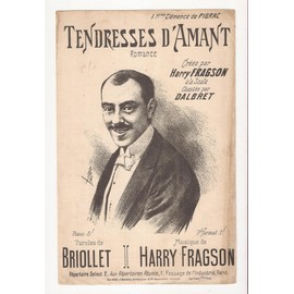TENDRESSES D'AMANT - ROMANCE - PAROLES DE BRIOLLET - MUSIQUE DE HARRY FRAGSON
