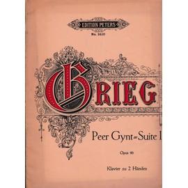 zweite peer gynt suite 2 opus 55 fur pianoforte solo bearbeitet der brautraub ingrids klage arabischer tang peer gynts heimkehr solvegs lied