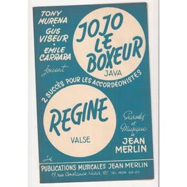 JOJO LE BOXEUR ( JAVA) - REGINE ( VALSE ) ACCORDEON