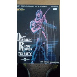 Ozzy Osbourne tribute Randy rhoads